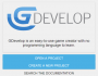 gdevelop5:tutorials:gdevelopstartscreen.png